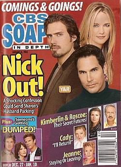 CBS Soaps In Depth January 10, 2006