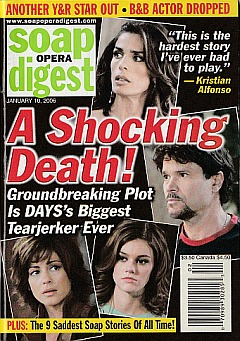 Soap Opera Digest Jan. 10, 2006