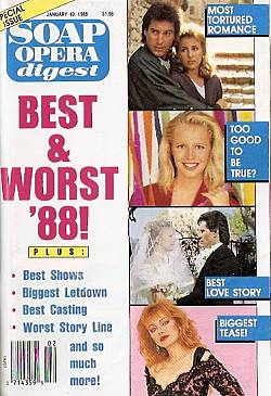 Soap Opera Digest January 10, 1989