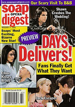 Soap Opera Digest Jan. 11, 2005
