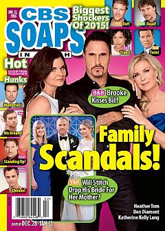 January 11, 2016 issue of CBS Soaps In Depth magazine
