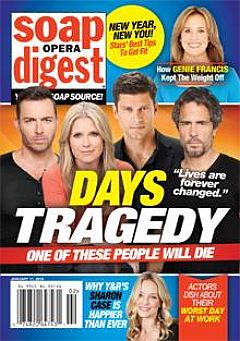 January 11, 2016 issue of Soap Opera Digest magazine