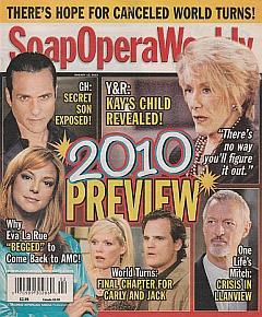 Soap Opera Weekly - Jan. 12, 2010
