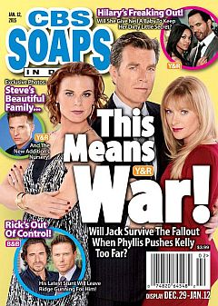 January 12, 2015 issue of CBS Soaps In Depth magazine