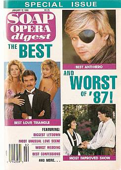 Soap Opera Digest January 12, 1988