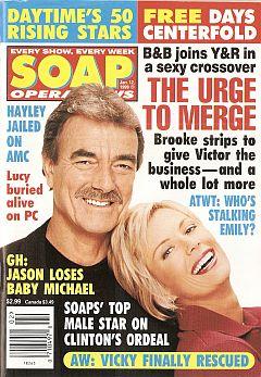 Soap Opera News January 12, 1999