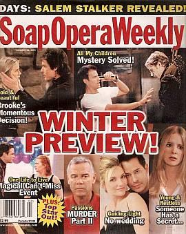 Soap Opera Weekly January 13, 2004