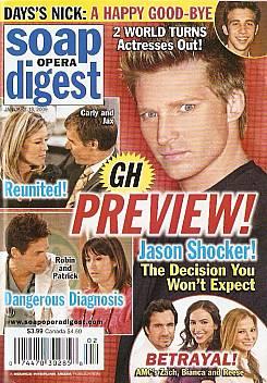 Soap Opera Digest January 13, 2009