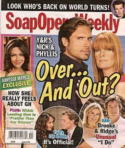 Soap Opera Weekly Jan. 13, 2009