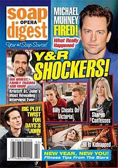 Soap Opera Digest Jan. 13, 2014