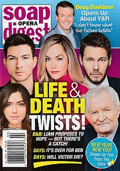 Soap Opera Digest January 13, 2020