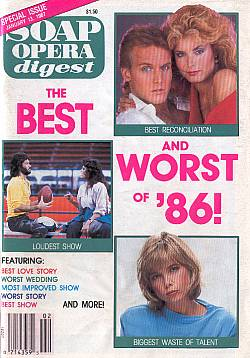 Soap Opera Digest January 13, 1987