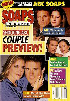 January 13, 1998 issue of ABC Soaps In Depth magazine