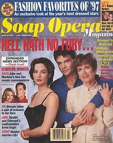 Soap Opera Magazine January 13, 1998