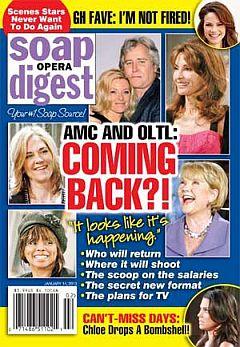 Soap Opera Digest Jan. 14, 2013