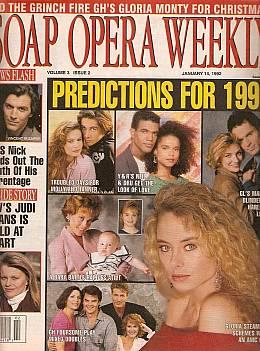 Soap Opera Weekly January 14, 1992