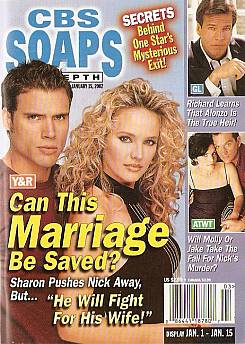 CBS Soaps In Depth January 15, 2002