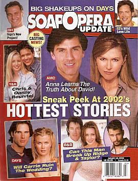 Soap Opera Update January 15, 2002