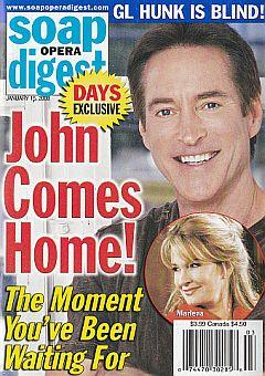 Soap Opera Digest January 15, 2008