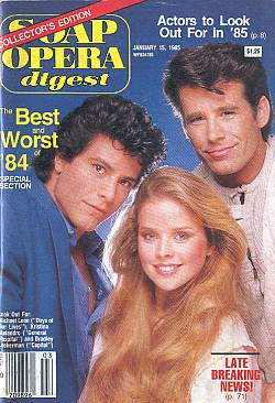 January 15, 1985 Soap Opera Digest