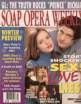 Soap Opera Weekly January 16, 2001