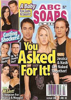 ABC Soaps In Depth January 16, 2007