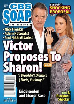 January 16, 2012 issue of CBS Soaps In Depth magazine