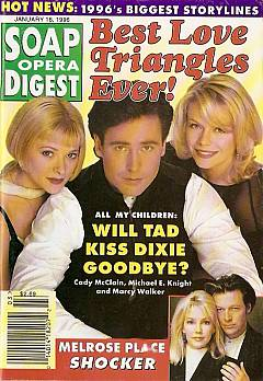 Soap Opera Digest - January 16, 1996