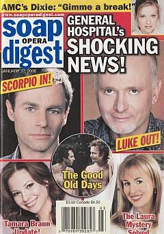 Soap Opera Digest Jan. 17, 2006