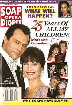 Soap Opera Digest - January 17, 1995