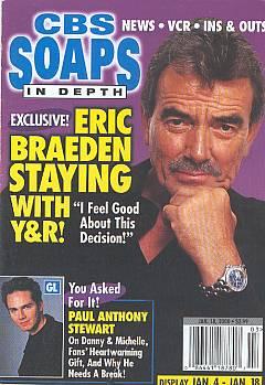 CBS Soaps In Depth January 18, 2000