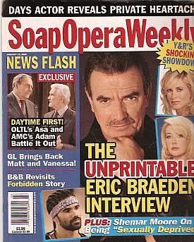Soap Opera Weekly January 18, 2005