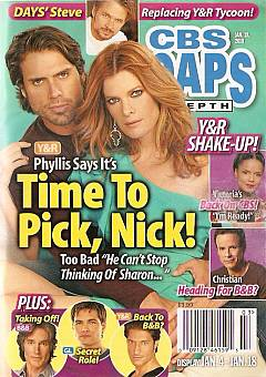 CBS Soaps In Depth January 18, 2010
