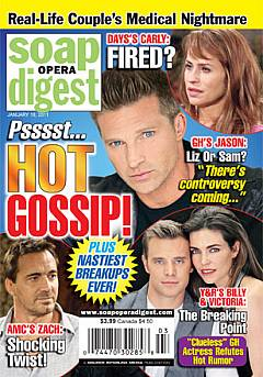 January 18, 2011 issue of Soap Opera Digest magazine