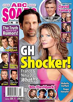 January 18, 2016 issue of ABC Soaps In Depth magazine