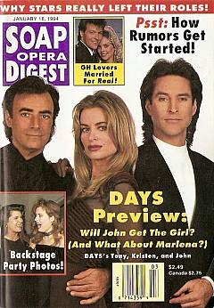Soap Opera Digest - January 18, 1994