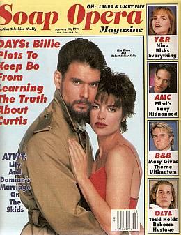 Soap Opera Magazine January 18, 1994