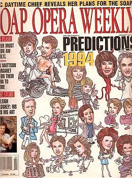 Soap Opera Weekly January 18, 1994