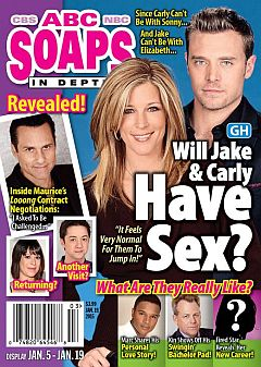 January 19, 2015 issue of ABC Soaps In Depth magazine