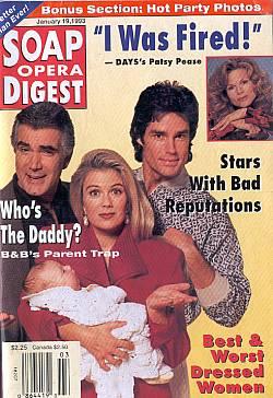 Soap Opera Digest January 19, 1993