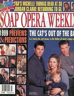 Soap Opera Weekly January 19, 1999