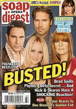 Soap Opera Digest January 20, 2009