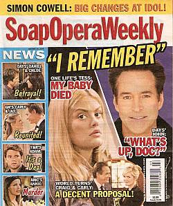Soap Opera Weekly Jan. 20, 2009