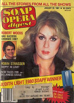 January 20, 1981 issue of Soap Opera Digest