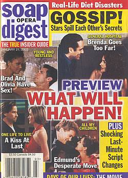 Soap Opera Digest Jan. 21, 2003