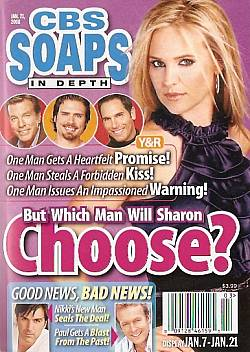 CBS Soaps In Depth January 21, 2008