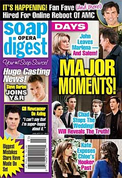 Soap Opera Digest Jan. 21, 2013