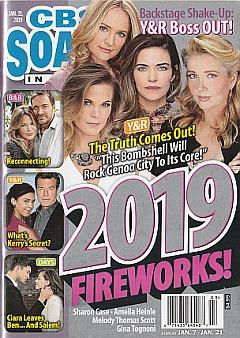 CBS Soaps In Depth January 21, 2019