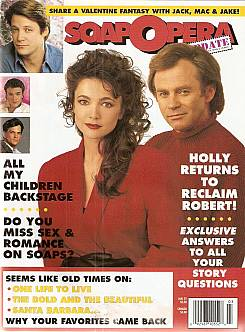 Soap Opera Update January 21, 1992