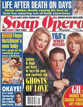 Soap Opera Magazine January 21, 1997